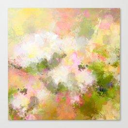 In neighbor`s garden Canvas Print