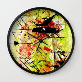 In The Falling Rain Wall Clock