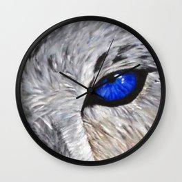 The Eyes Have it! Wall Clock