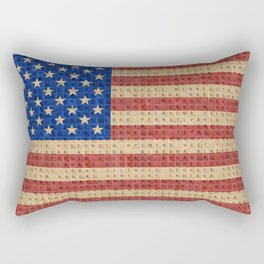The Stars and Stripes #2 Rectangular Pillow