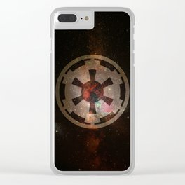 Galactic Empire Clear iPhone Case