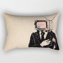 Kill The Babysitter Rectangular Pillow