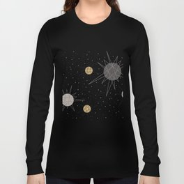 Atomic Stars Neutral Long Sleeve T-shirt