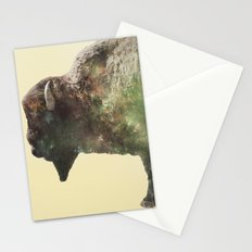 Surreal Buffalo Stationery Cards