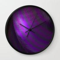 wallpaper Wall Clocks featuring Wallpaper by Fine2art
