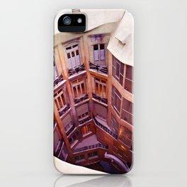 La Pedrera - Barcelona iPhone Case