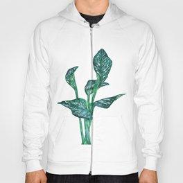 green calla lily Hoody