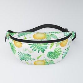 Citrus Tropics - White Fanny Pack