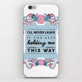 Stockholm Syndrome iPhone Skin