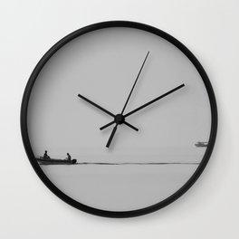 """silence"" Wall Clock"