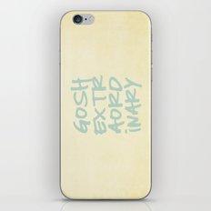 Gosh,Extraordinary iPhone & iPod Skin