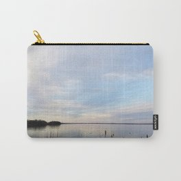 Twilight Serenity - Clouds and reflections on University Bay Carry-All Pouch