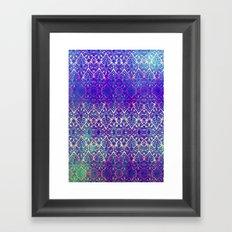 BABEELON BLUE Framed Art Print