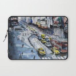 Time square - New York City Laptop Sleeve