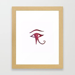 from the Source ~ Eye of Horus Little Galaxy III Framed Art Print