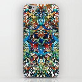 Bold Pattern Art - Color Fusion Design 8 By Sharon Cummings iPhone Skin