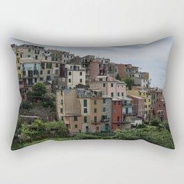 Cinque Terre, Italy panoramic Rectangular Pillow