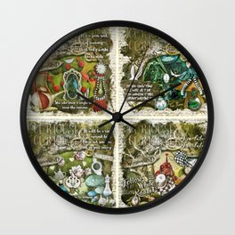 Alice of Wonderland Series 2 Wall Clock