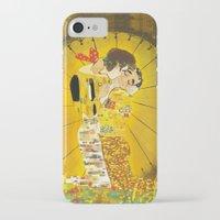 klaine iPhone & iPod Cases featuring KLAINE KISS by Tacodemuerte