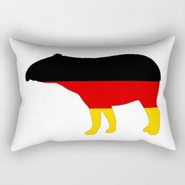 German Flag - Tapir Rectangular Pillow
