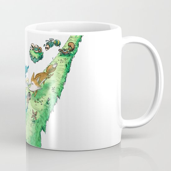 Starring Sonic and Miles 'Tails' Prower (Alt.) Coffee Mug