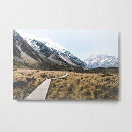 Mt Cook/Aoraki Metal Print