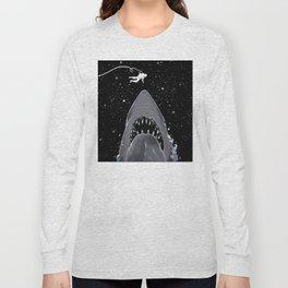 Astronaut Meet the Jaws Long Sleeve T-shirt