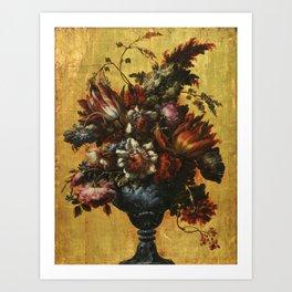 Corte, Gabriel De La - Flower Vase Art Print