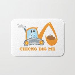 Chicks Dig Me Bath Mat