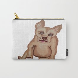 Dog with pointy ears Carry-All Pouch