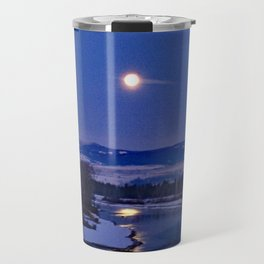 Bitterroot Moon Travel Mug