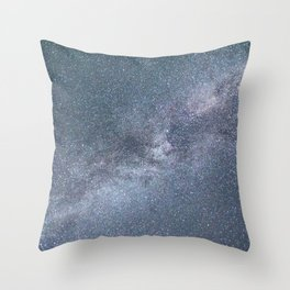 Milky Way Starry Night Throw Pillow