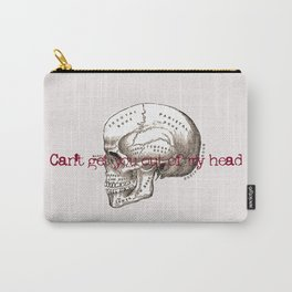 Can't get you out of my head vintage illustration Carry-All Pouch