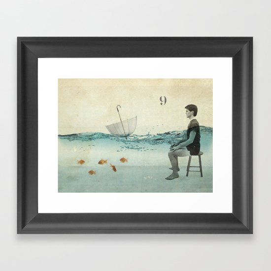 never one when you need one Framed Art Print