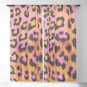 Gold and Pink Leopard Spots by havocgirl