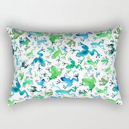 Tree Frogs Rectangular Pillow