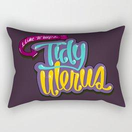 Tidy Uterus (HE101) Rectangular Pillow