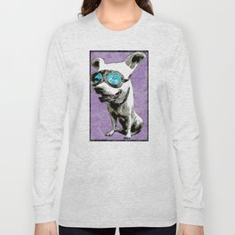 Dog with goggles Long Sleeve T-shirt