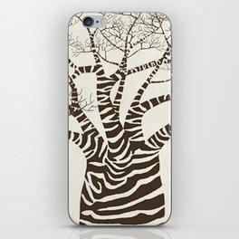 Zebra Tree iPhone Skin
