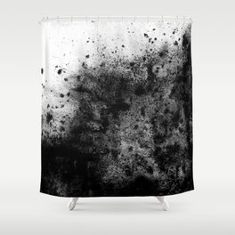 The Sherry / Charcoal + Water Shower Curtain