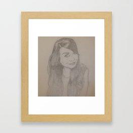 Zoella Framed Art Print