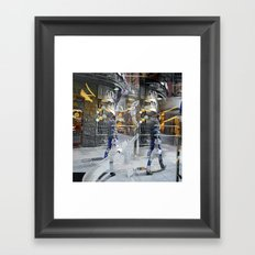 Monday 25 February 2013: effervescent attitudes triumph somberly Framed Art Print