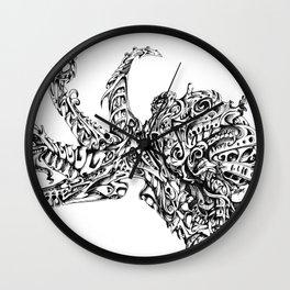 Thinker Wall Clock
