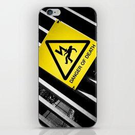 Danger of Death #2 | New Slant, Old Message iPhone Skin