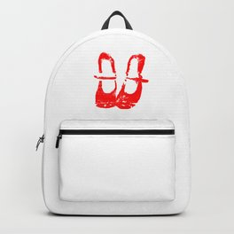 Red shoes Backpack