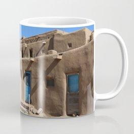 Taos Pueblo Village Road Coffee Mug