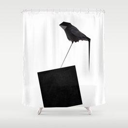 Logic Shower Curtain