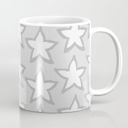 Star Fruit Grayscale pattern Coffee Mug
