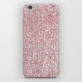 fun, red and black iPhone Skin