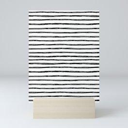 Scribbly Stripey Mini Art Print